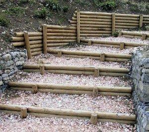 Fermare senza cementificare consigli verdi - Palizzate in legno per giardino ...